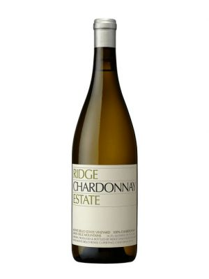 2017 Ridge Estate Chardonnay, Sonoma, California