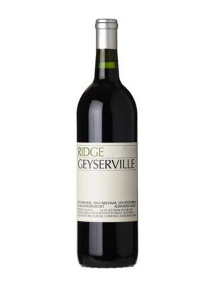2017 Ridge Estate Geyserville, Sonoma, California